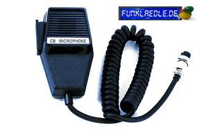 Robustes Ersatz-Originalmikrofon für Geräte mit Kaiser Norm 4 pol.Mikroanschluss