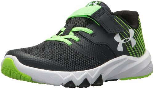 4 Colors Under Armour Boys Pre School Primed 2 Adjustable Closure Running Shoes
