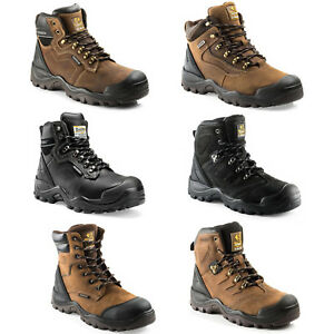 Anti-Scuff Steel Toe Shoes