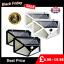 100-LED-Solar-Power-PIR-Motion-Sensor-Wall-Light-Outdoor-Garden-Lamp-1-4-Pack thumbnail 1