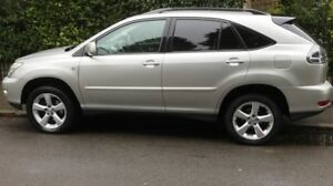 Lexus-RX350-Silver-Excellent-condition-12-months-MOT-4X4