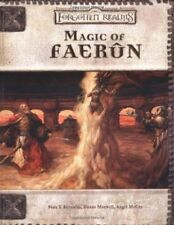 Dungeons and Dragons Forgotten Realms Campaign Setting Ser. Core Rules: Magic of Faerun by Sean K. Reynolds, Angel Leigh McCoy and Rob Heinsoo (2001, Paperback, Revised)