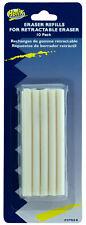 Helix Eraser Refills For Retractable Eraser 10 Pack