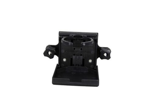 Pactrade Marine 2PCS Boat Tracker Versatrack Folding Adjustable Drink Cup Holder