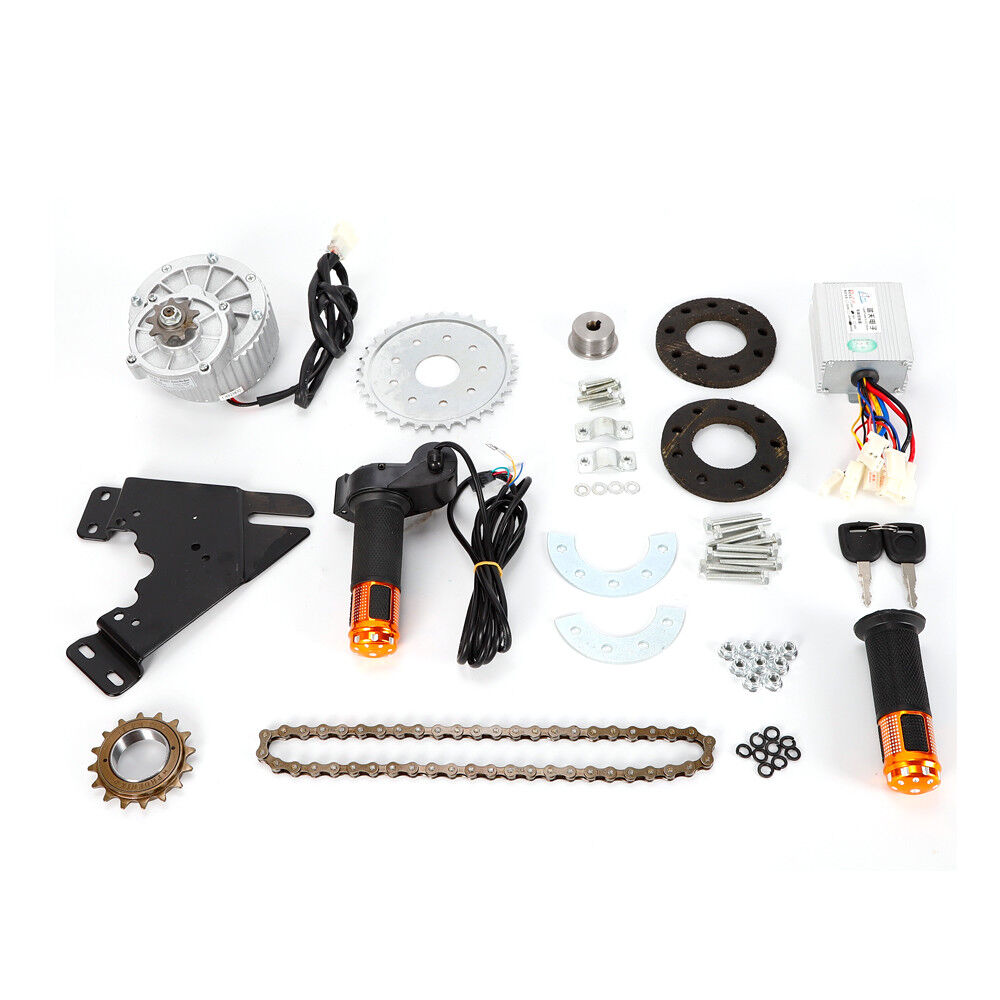 New 450W 36V E-bike Bicycle kit Brush Motor  with Freewheel Reduce Resistance USA  factory outlet online discount sale