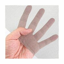 304 Stainless Steel Mesh Screen Wire Woven Mesh Roll 30cm X 60cm 118x 236