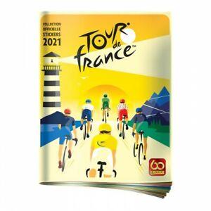 """Cyclisme - Cycling : Images PANINI Stickers """"LE TOUR DE FRANCE 2021"""" (1 --> 254)"""