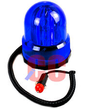 12V Magnetic Blue Beacon Off Road Emergency Replacement Light Lamp Rotating car