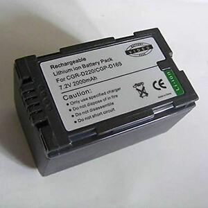 Battery-for-Panasonic-NV-DS27B-NV-DS27-NV-DS4-Camcorder