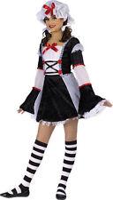 NEW Wicked Innocence Rag Darlin Rag Doll Dress Halloween Costume Child 8-10
