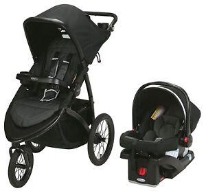 Graco-Baby-RoadMaster-Jogger-Travel-System-Stroller-w-Infant-Car-Seat-Spencer