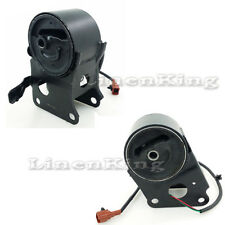 For Engine Motor Mount Set 2 Solenoid For G051 Nissan Altima Maxina Quest Murano