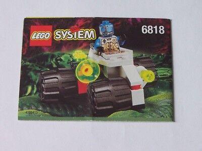 Lego® Bauanleitung 6818 Ausgereifte Technologien Instruction Nr