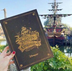 Livre-Pirates-Des-Caraibes-Disneyland-Paris-50-Ans-FR-amp-EN-Neuf-Sealed-SOLD-OUT