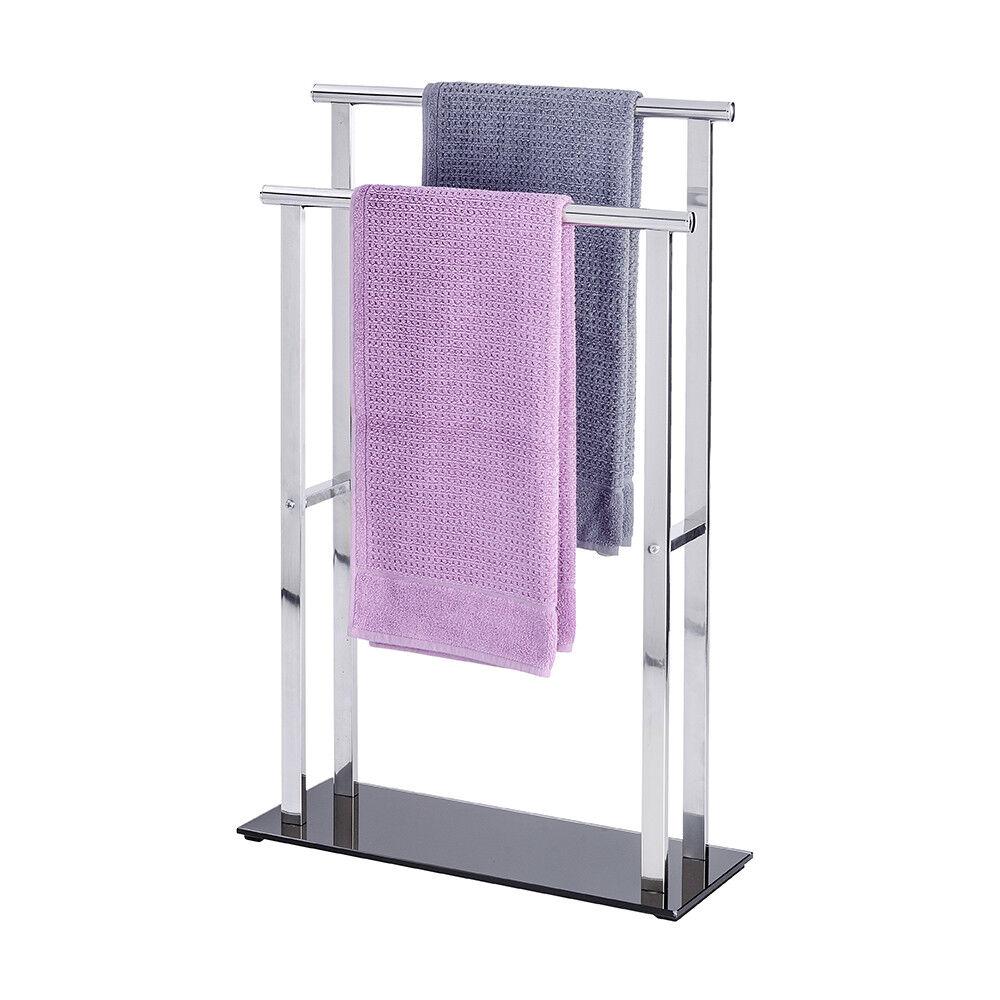 WENKO Badetuchhalter Handtuchhalter Handtuchbutler Handtuchbutler Handtuchbutler Lava Handtuchständer 06e778