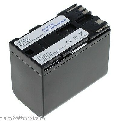 Batería para Canon bp-970 bp-970g xh a1 g1 a G 1 XHA xhg