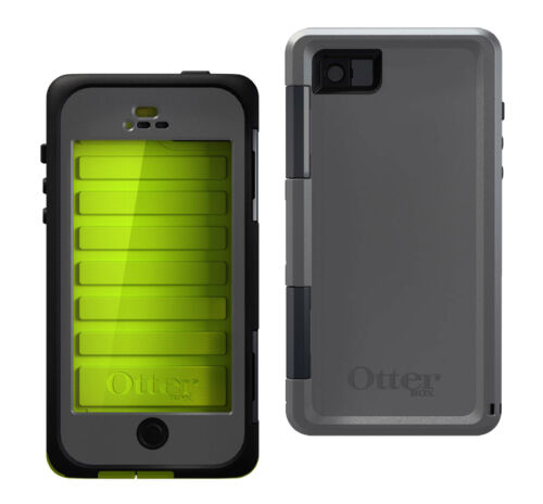 New OtterBox Armor Waterproof Case for iPhone 5 5S - Neon Gray Color