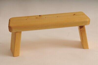 Meditation stool wood seiza Pilates Yoga prayer stool mindfulness hand made new