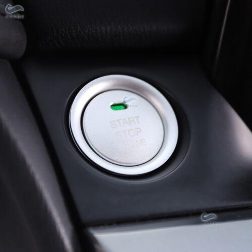 Alu Alloy Engine Start Stop Button Cover Ring For Mazda 3 Axela CX-3 CX-4 CX-5