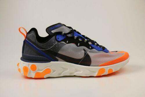 004 87 44 Nike Wolf 41 Orange Element Eu Aq1090 Black Grey Blue React 43 Sneaker ZnnTxO
