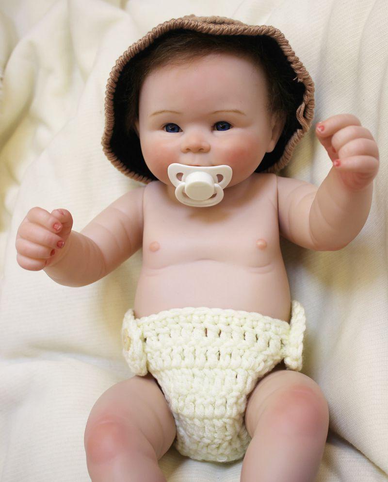 RINATO Baby doll ragazzo vivido BEL Full Body SILICONE vinile fatto a mano realistica 22