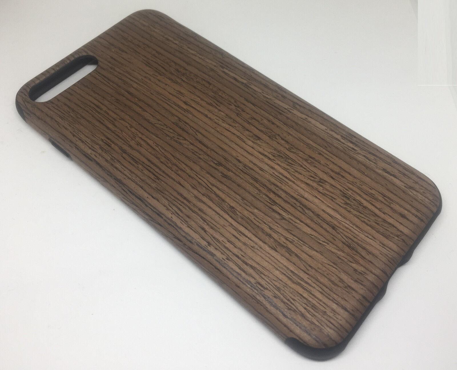 Cover effetto legno/pelle per iphone 7 - accessori smartphone