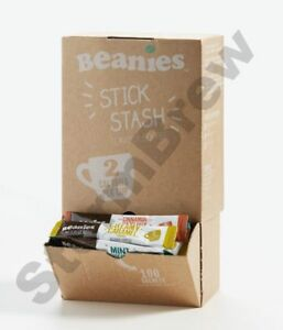 100-BEANIES-MIXED-BLENDS-INSTANT-FLAVOURED-COFFEE-STICKS-SACHETS-DISPENSING-BOX