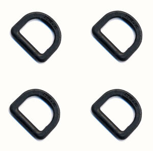 25mm ITW Fastex D-Ring Pack of 6 Khaki