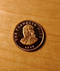 Franklin Mint Beautiful Solid BRONZE State Coin Uncirculated PENNSYLVANIA