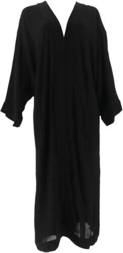 GILI Kimono Duster Noir Black S NEW A306114
