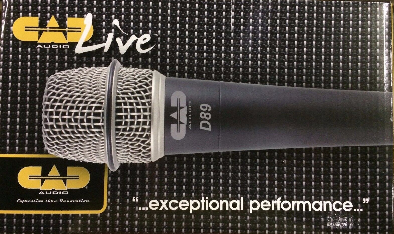 Cad - D89 - - - Premium Supercardioide Dinámico Instrumento Micrófono a5aac4