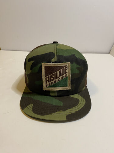 Continental Vintage Snapback Hat Farmer Made in USA K Products Camo