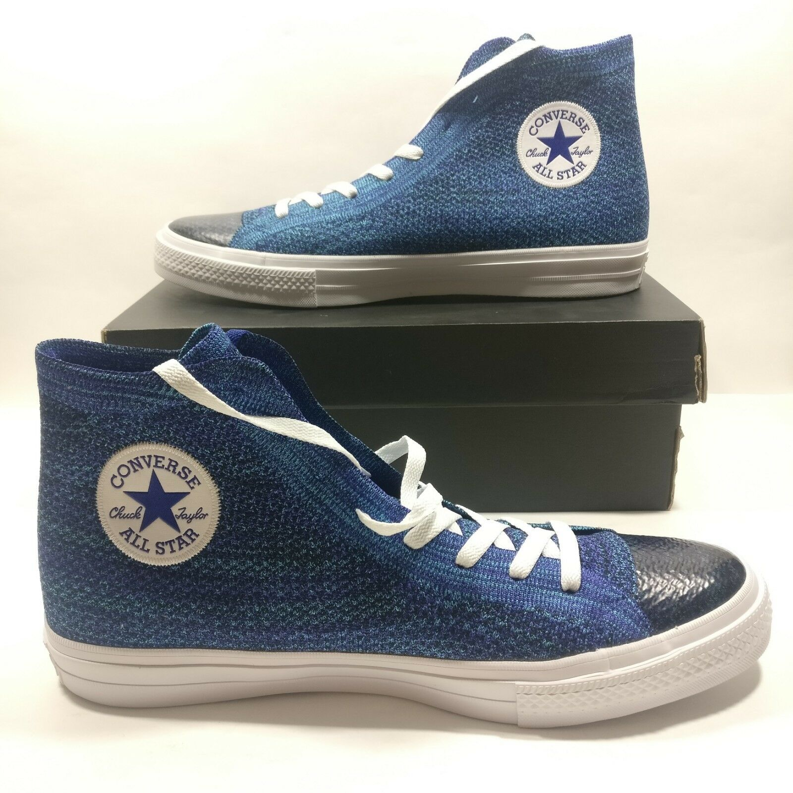 Mens Converse Chuck Taylor All Star Flyknit High Top Sneakers 157507C Size 12