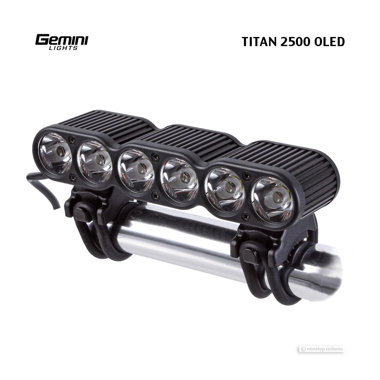 Luces de Géminis, Titan 2500, caída de la resistencia, faro de moto MTB orld, Titán 2.