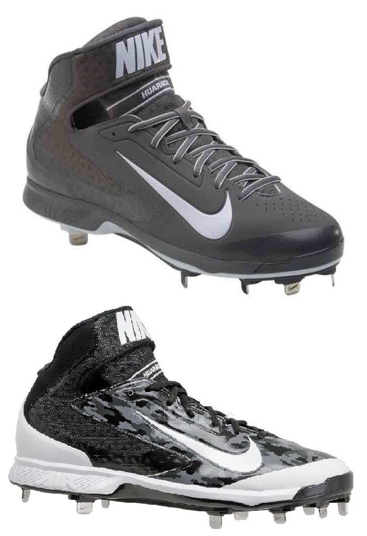 NEW Mens Nike Air Huarache Pro Mid Metal Baseball Cleats MSRP  95