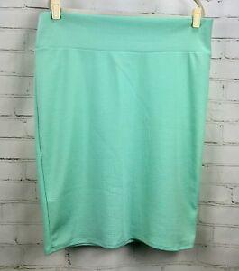 99cb6d1ad83ab LuLaRoe Cassie Skirt - Plus Size 3XL (24-26) Stretch Pencil - Mint ...