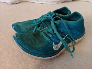competitive price 111cf 8c18a Image is loading WOMENS-NIKE-FREE-FLYKNIT-4-0-RUNNING-SHOES-