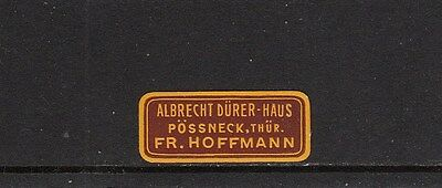 Niedrigerer Preis Mit 401888/ Siegelmarke - Albrecht Dürer Haus - Pössneck / Thür. - ** Festsetzung Der Preise Nach ProduktqualitäT