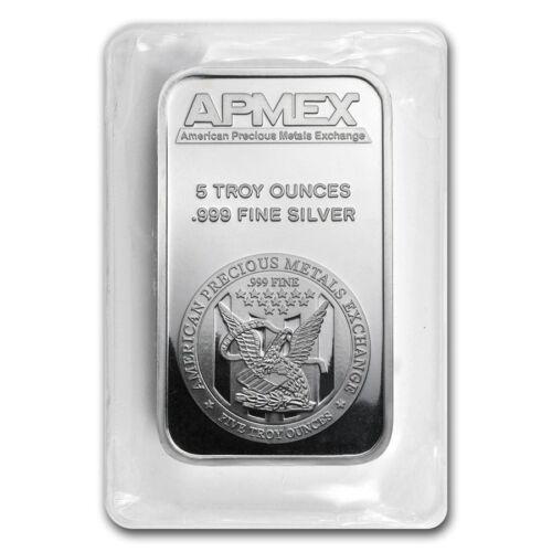 SKU #40249 APMEX 5 oz Silver Bar