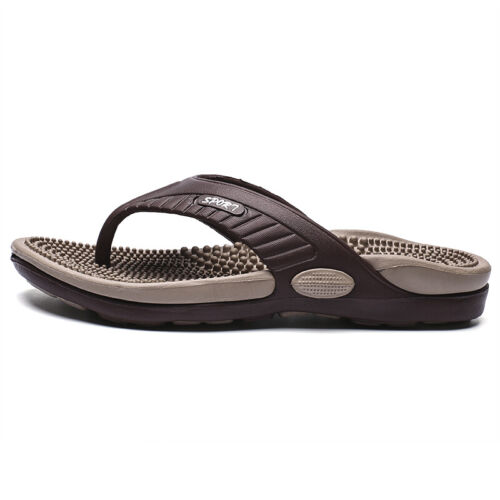 Herrenschuhe Fußbett Zehentrenner Sandalen Pantoletten Strandschuhe Baden Sommer