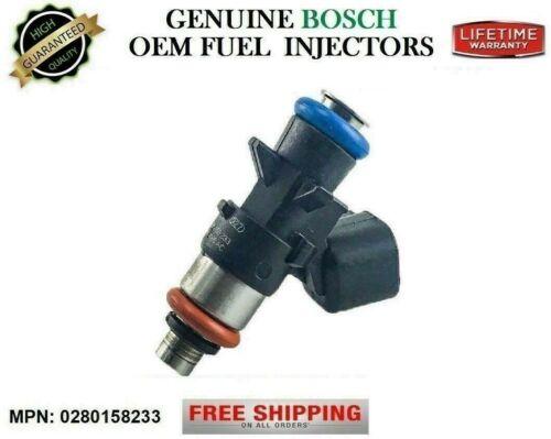 3.6L V6 {#0280158233} x1 Reman Fuel Injector OEM Bosch 2012-2017 Jeep Wrangler