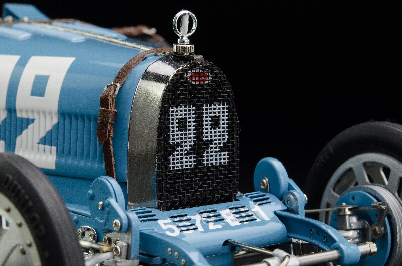 Bugatti T35 Nation Farbe Project - Frankreich  22 LE 1000 St. CMC M-100 004