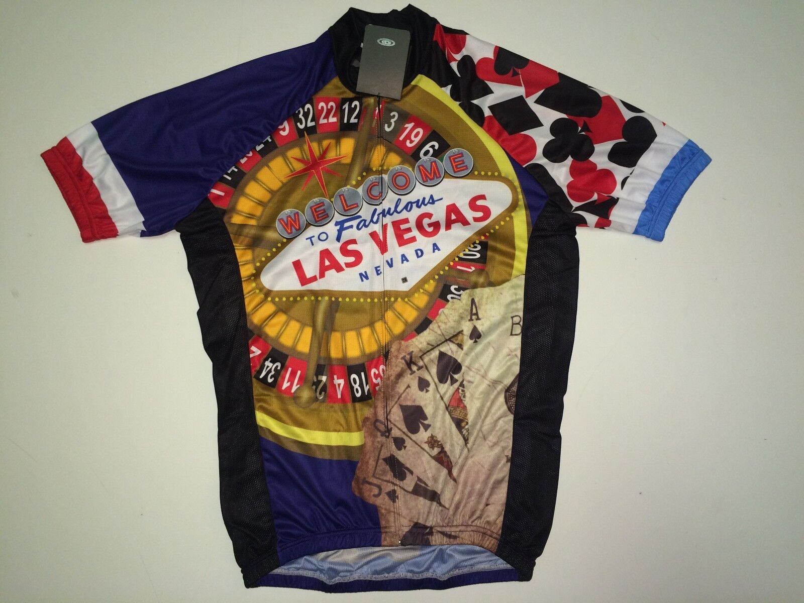 New size Medium   M - LAS VEGAS Nevada Road Bike MTB Cycling Jersey