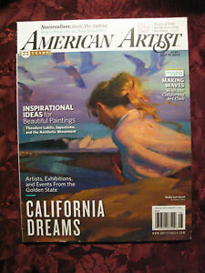 AMERICAN-ARTIST-magazine-July-August-2012-California-Art-Malibu-Elmer-Bischoff