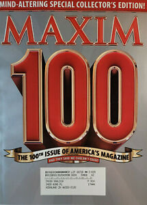 Maxim Magazine April 2006 - Special Collector Edition 100th Issue Magazine - EX