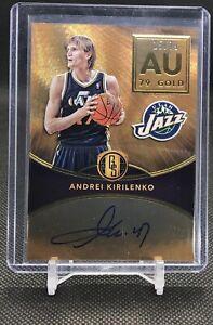 2016-17-Gold-Standard-ANDREI-KIRILENKO-Rare-On-card-Auto-Utah-Jazz-AU-79