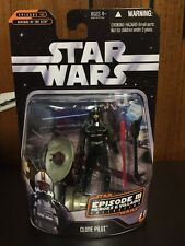 Star Wars Heroes & Villains Episode 3 CLONE PILOT (Black) w/ Count Dooku Holo