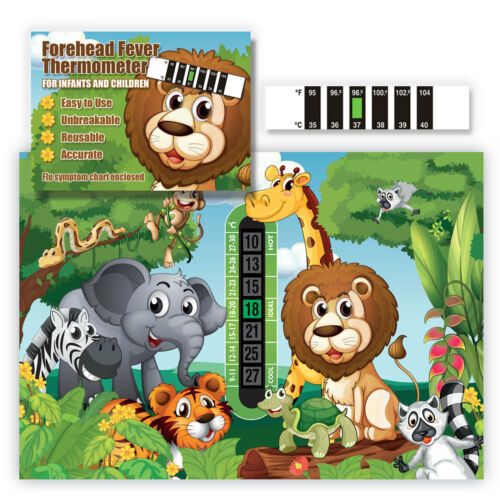 Jungle Room Thermometer /& Monkey Forehead Fever thermometer twin pack