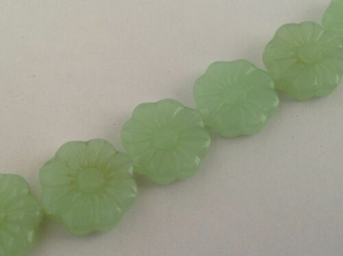 choose colour Plastic Acrylic carved flower beads for jewellery making