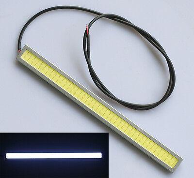 2x Auto 17cm Weiß 12V LED COB DRL Licht-Nebel-Lampe Tagfahrlichte 6500K